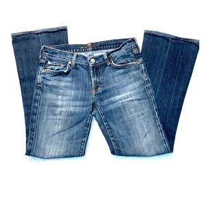 7FAMK Bootcut denim jeans Sz 28